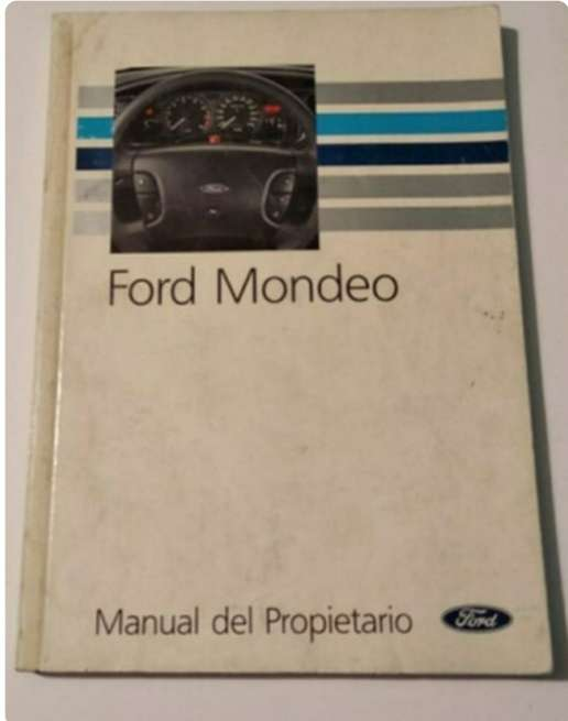 Imagen manual Ford Mondeo 1992