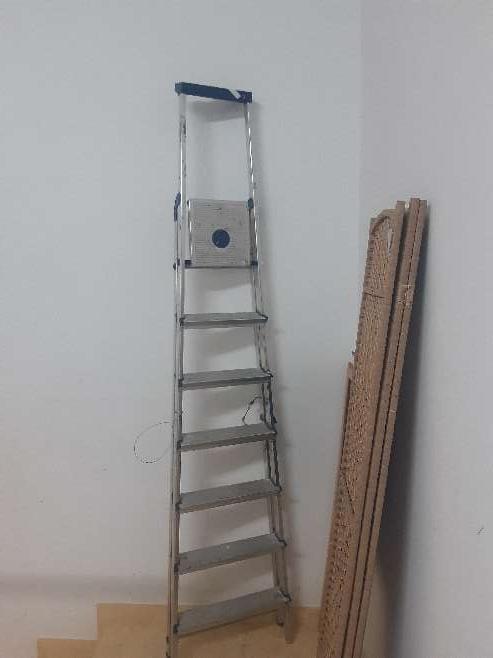 Imagen Escalera Aluminio NUEVA.