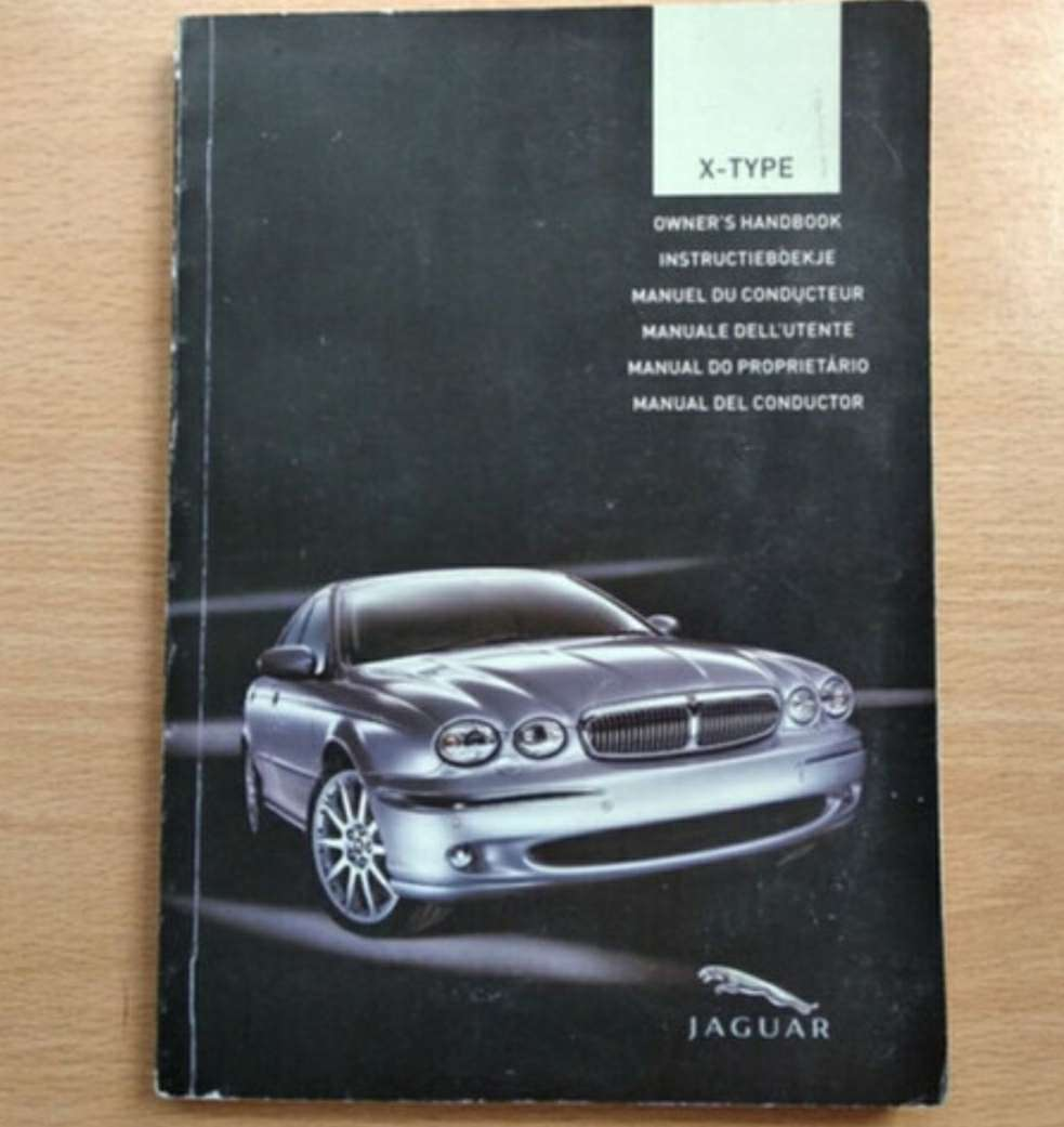 Imagen manual jaguar x-type