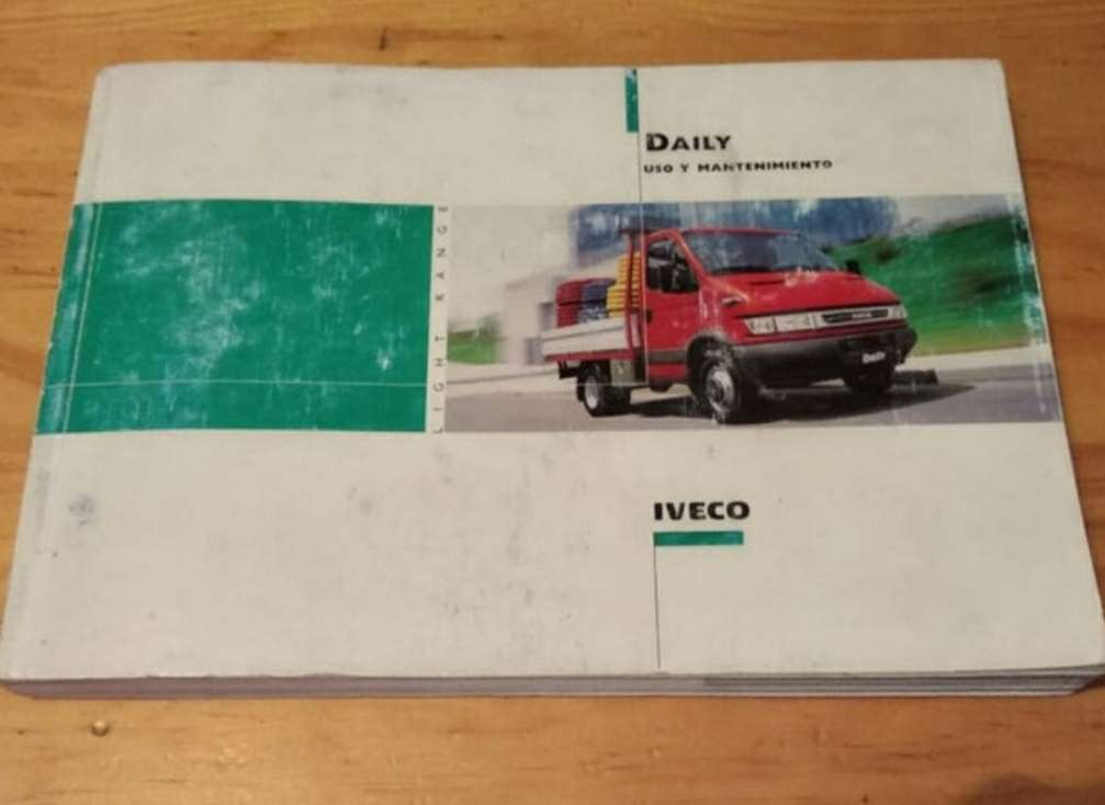 Imagen manual Iveco daily