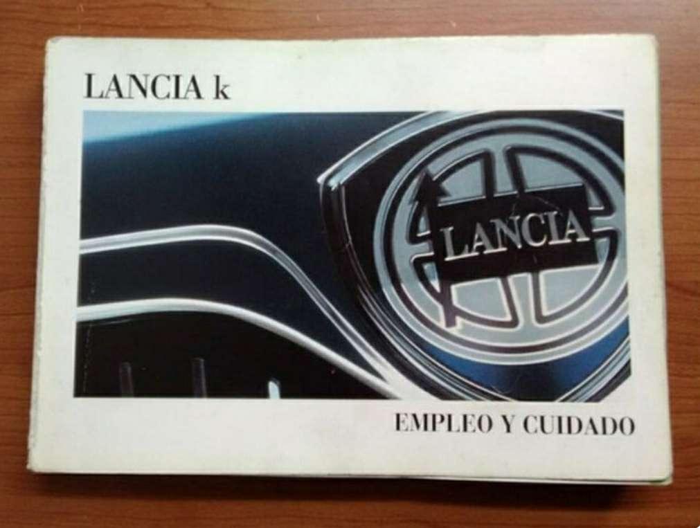 Imagen manual Lancia k