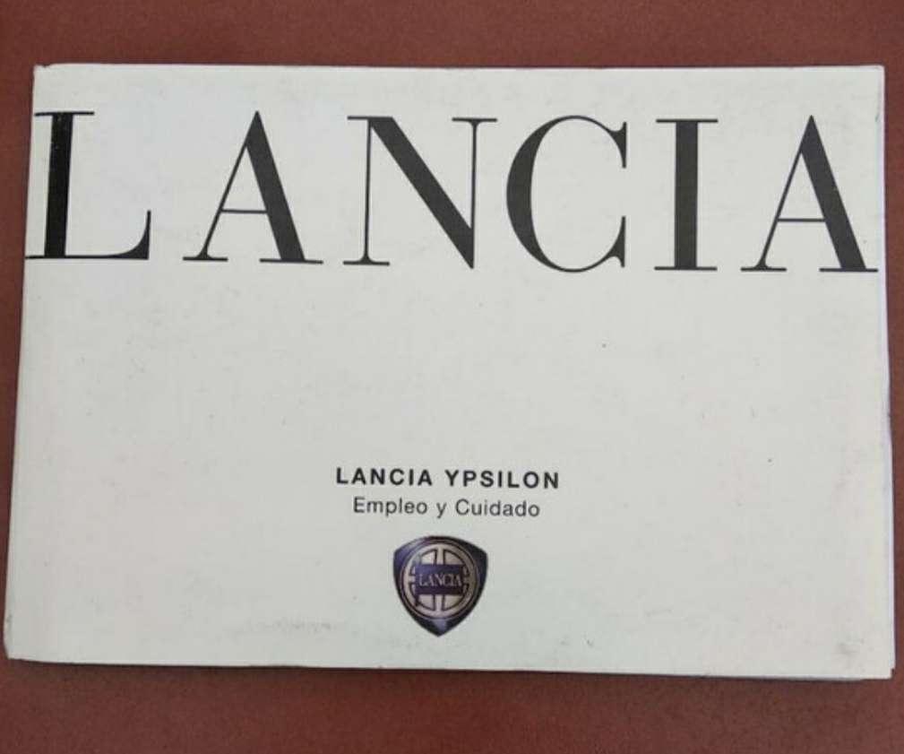 Imagen manual Lancia ypsilon