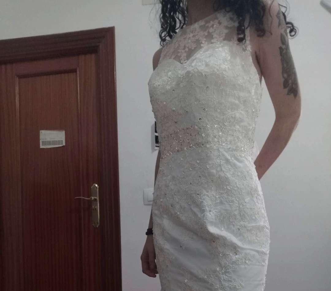 Imagen Vestido de novia corte sirena
