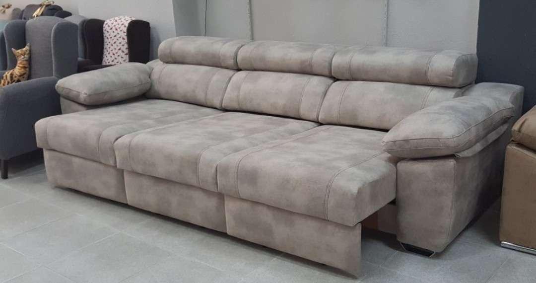 Imagen Sofá línea cama color beige