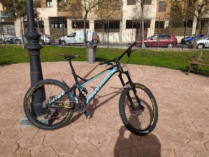 Imagen bici enduro,dh,mtb