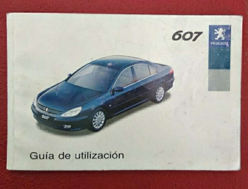 Imagen manual Peugeot 607