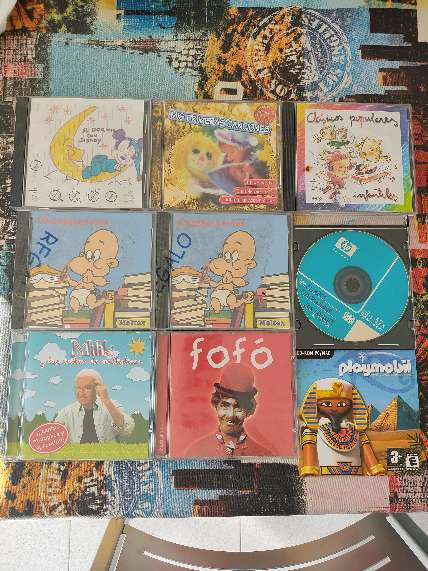 Imagen CDs de música infantiles