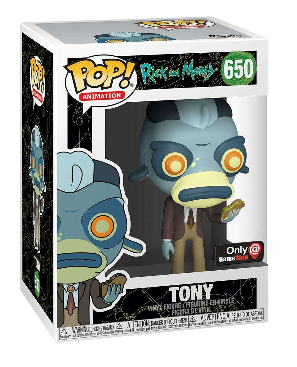 Imagen Rick and Morty Funko Pop #650 Original. Edición Especial