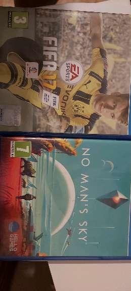 Imagen Fifa 17 y NO man's sky por 20€