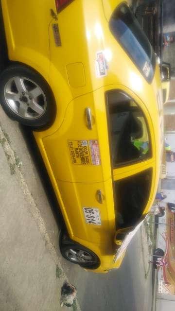 Imagen Se ve lnde taxi con puesto