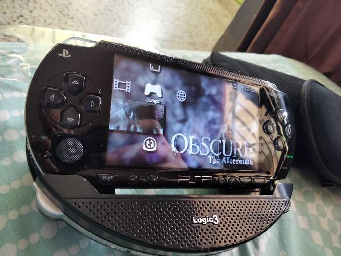 Imagen psp nueva admite todos los formatoa digitales y en tarjeta SD