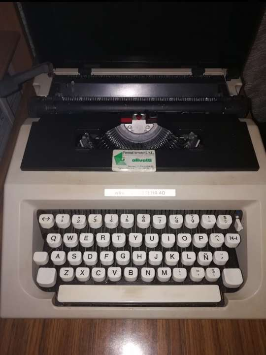 Imagen Máquina de escribir