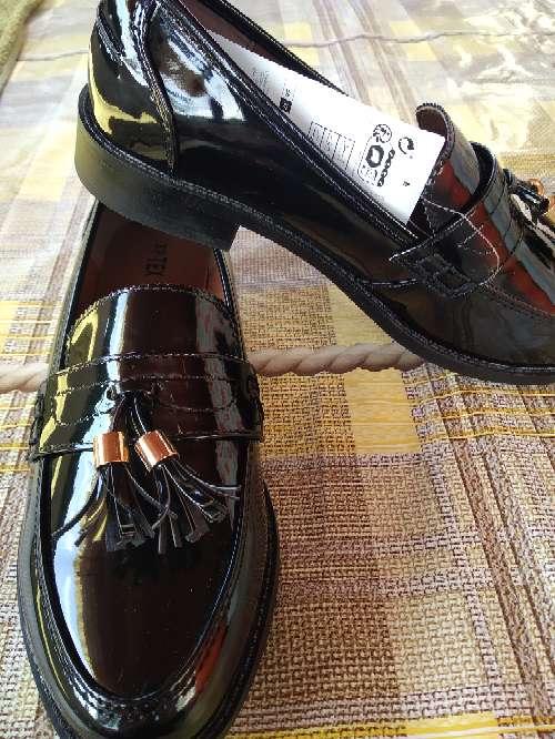 Imagen Zapatos mocasín señora piel