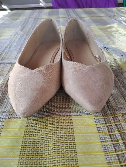 Imagen zapatos bailarinas piel señora
