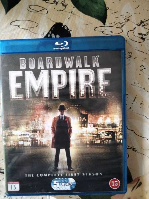 Imagen lote serie boardwalk empire 1 temporada completa bluray y breaking bad ultima temporada en dvd + aguila roja BLuray (1)