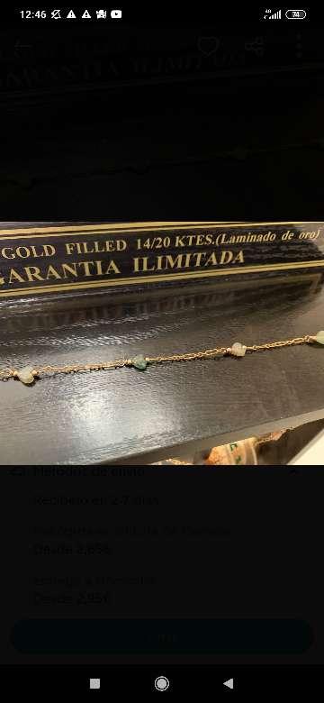 Imagen Gargantilla de oro laminado
