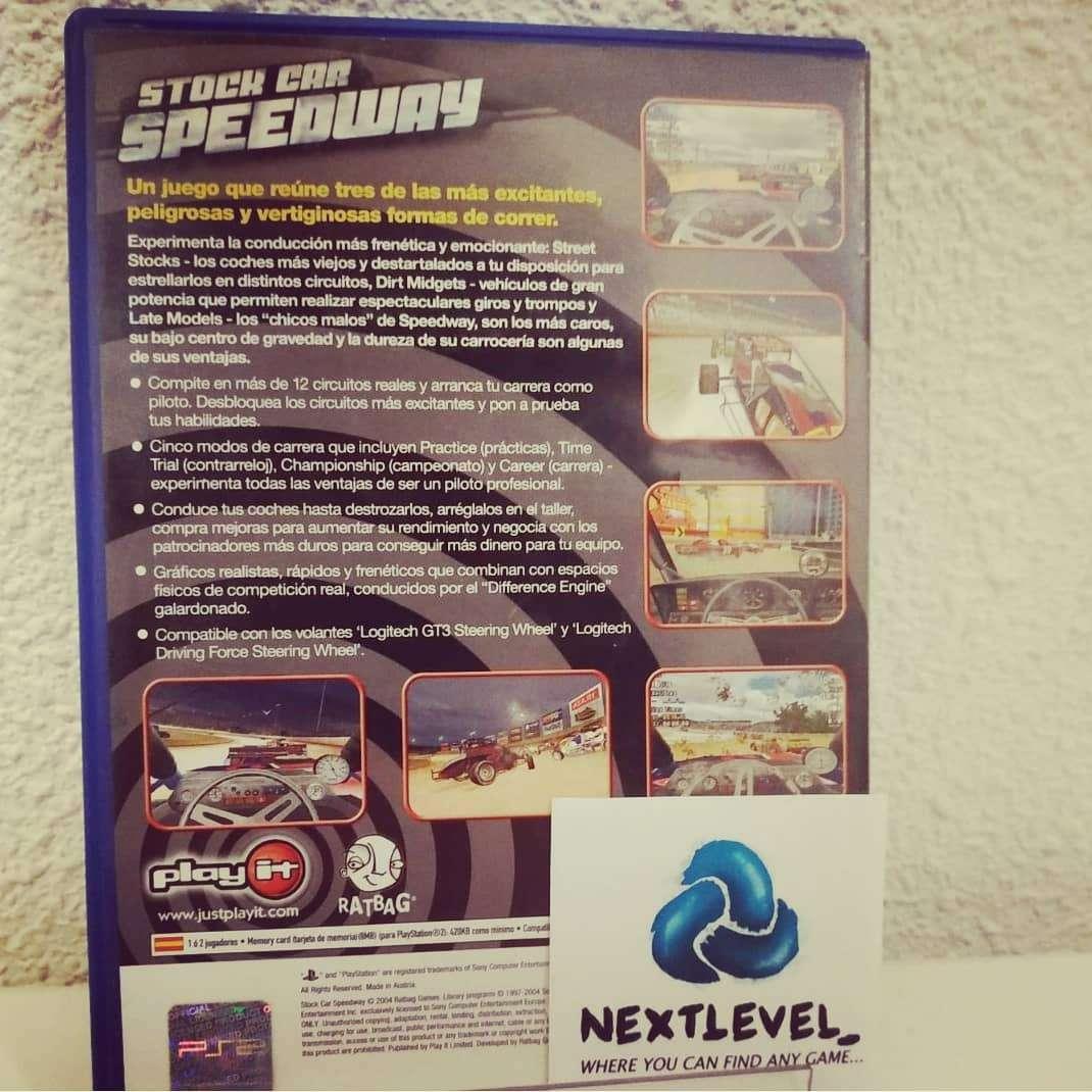 Imagen Stock car speedway PlayStation2