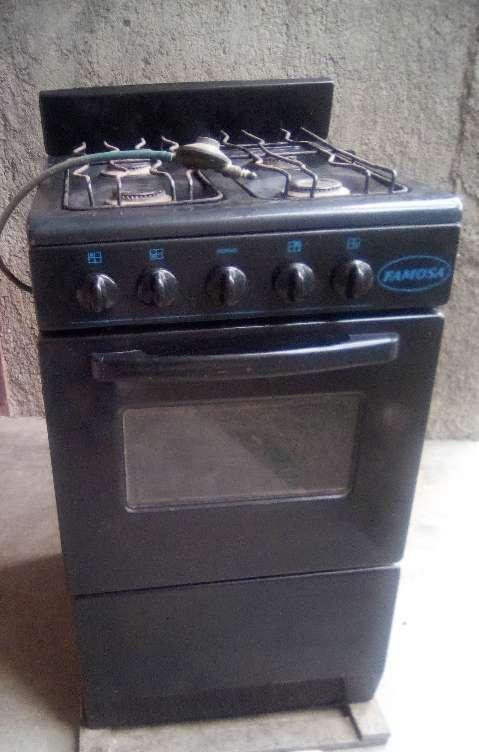 Imagen cocina color negro