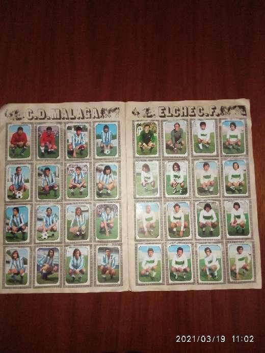 Imagen Album de cromos futbol