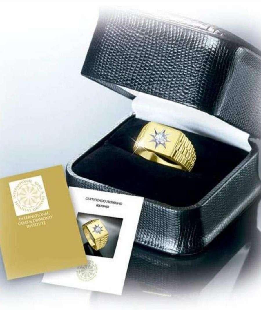 Imagen anillo de oro