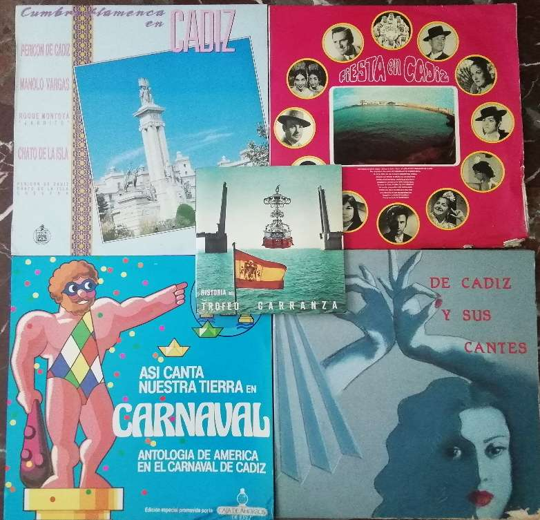 Imagen Discos vinilos RELACIONADOS CON CÁDIZ