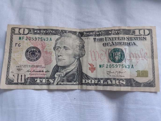 Imagen $10 ALEXANDER HAMILTON$