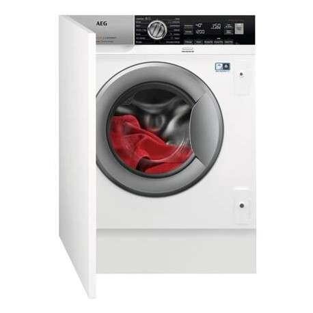 Imagen lavadora 8kg integrable aeg lfx7e8432bi