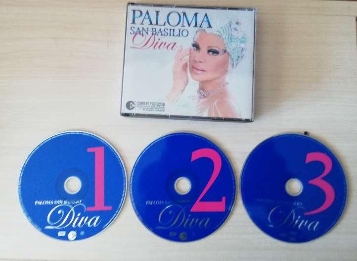 Imagen 2 CD y 1 DVD PALOMA SAN BASILIO