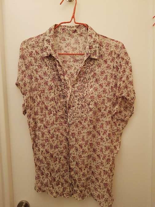 Imagen blusa estampada nueva talla xl