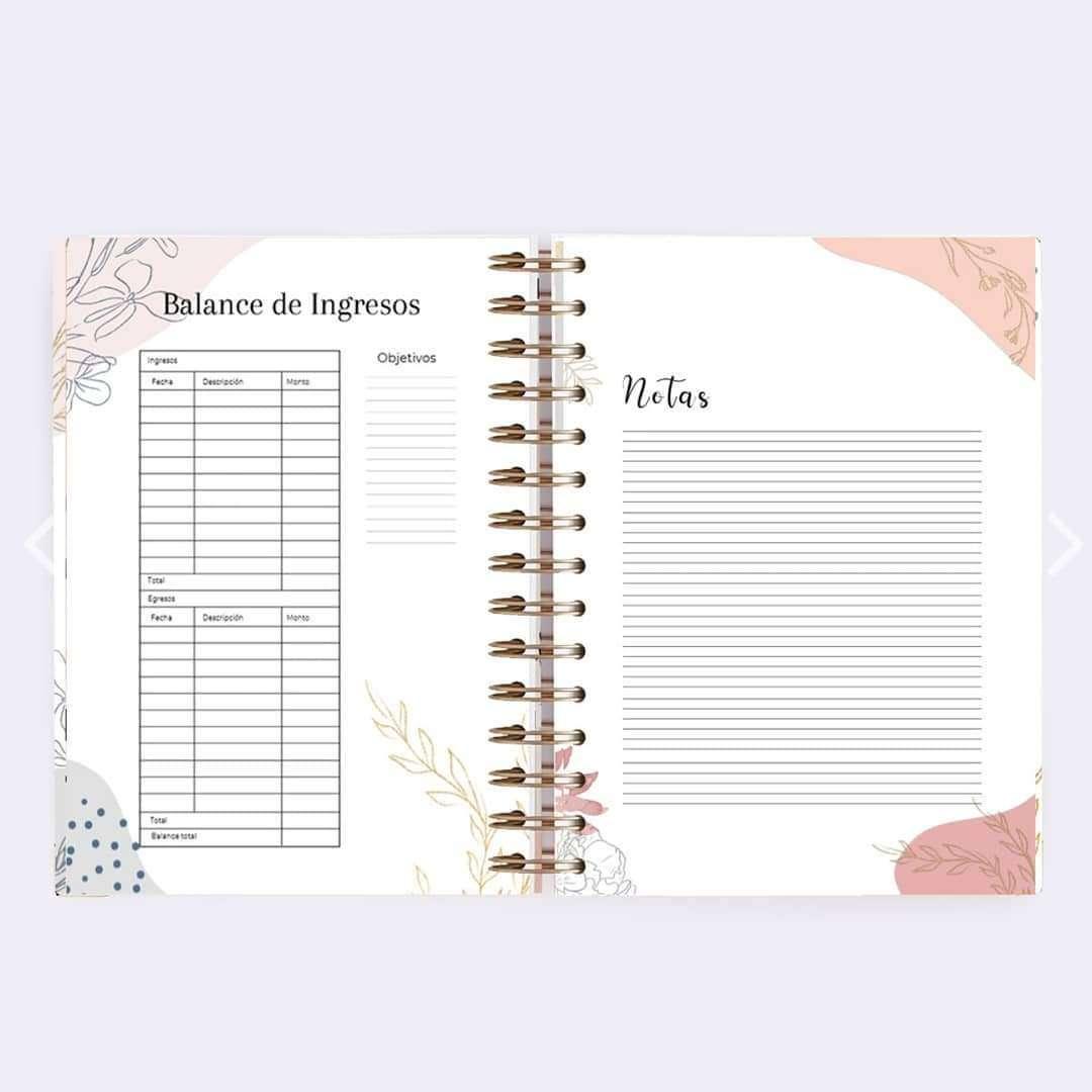 Imagen producto Agenda construye la vida que te mereces  4