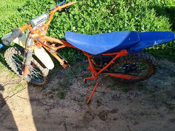 Imagen pitbike beta derbi rieju
