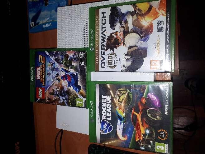 Imagen producto Xbox one con 2 mandos y 3 juegos 4