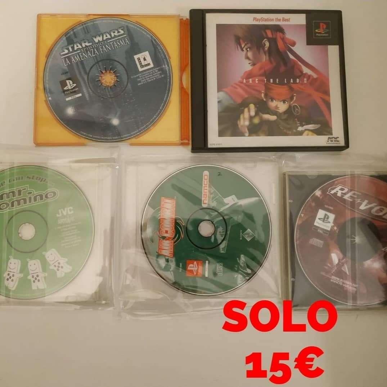 Imagen Lote de juegos PS1