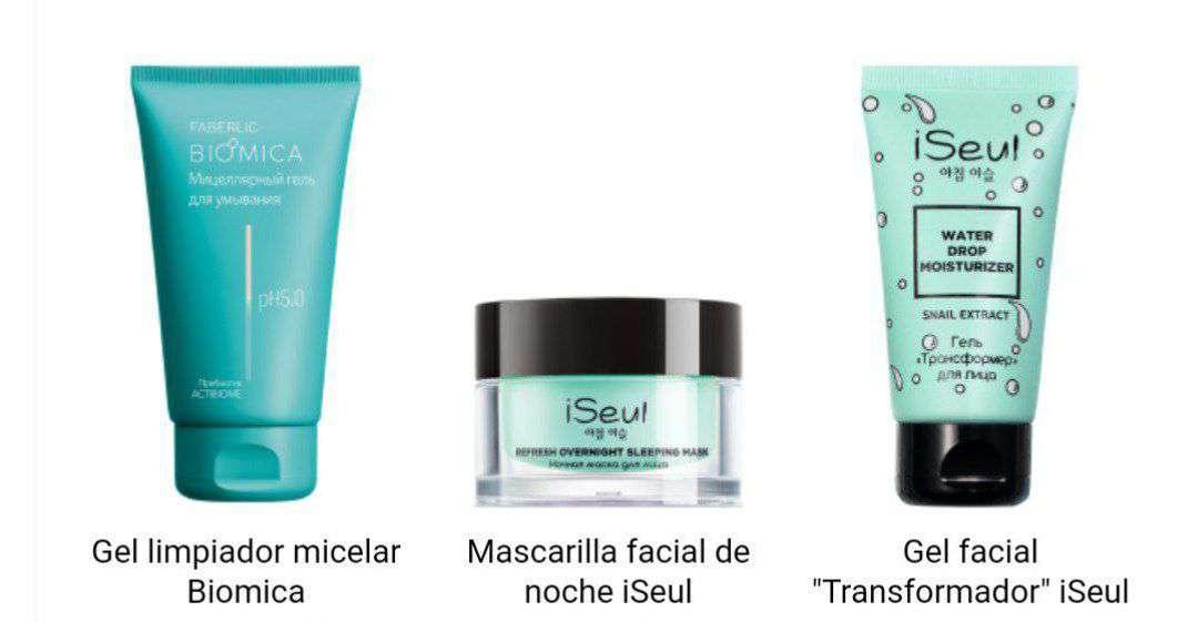 Imagen producto Lote cosmética Seul 1