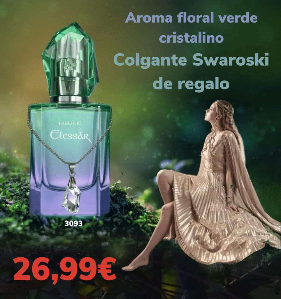 Imagen agua de perfume de mujer con regalo