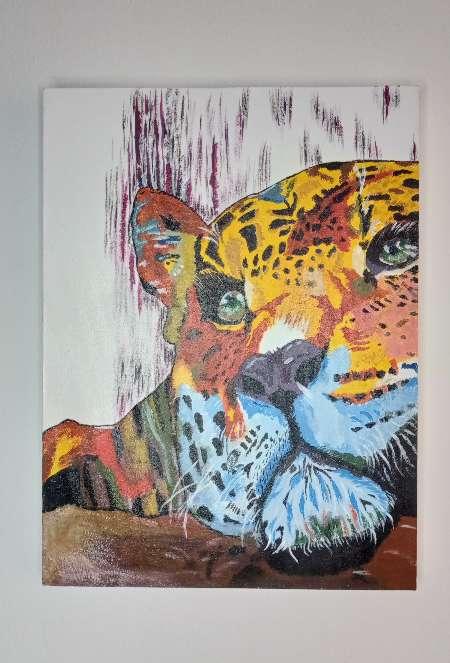 Imagen pintura en óleo 30x40