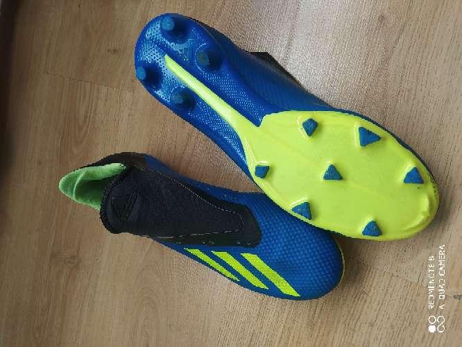 Imagen Bota de fútbol Adidas X con calcetín núm 43