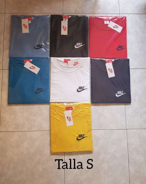 Imagen Camisetas Nike bordadas.