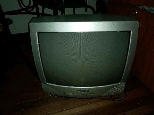 Imagen televisor antiguo panasonic