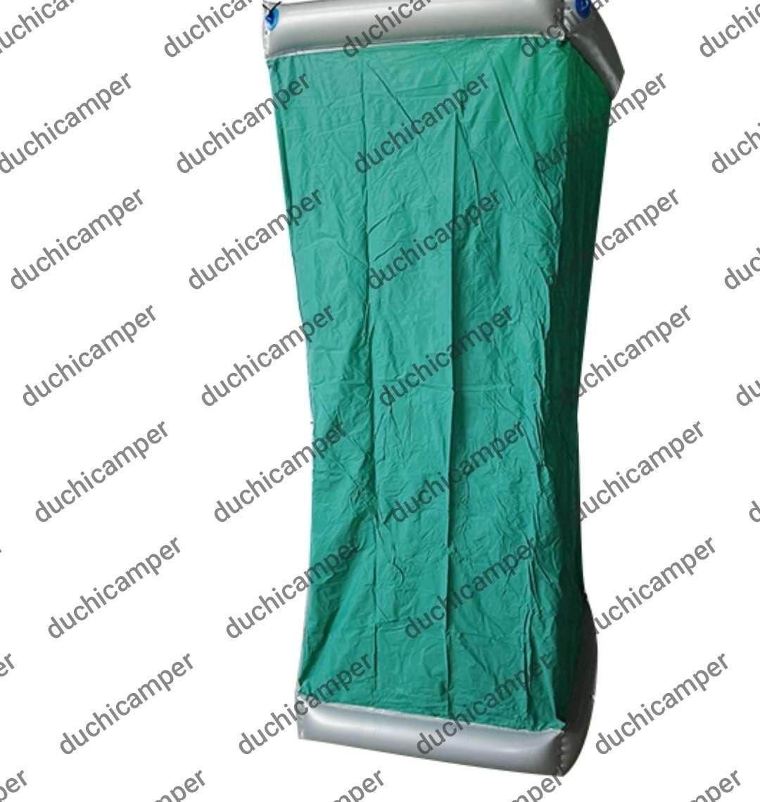 Imagen producto Duchicamper - ducha + WC + cambiador + probador en PVC reforzado e inflable 3