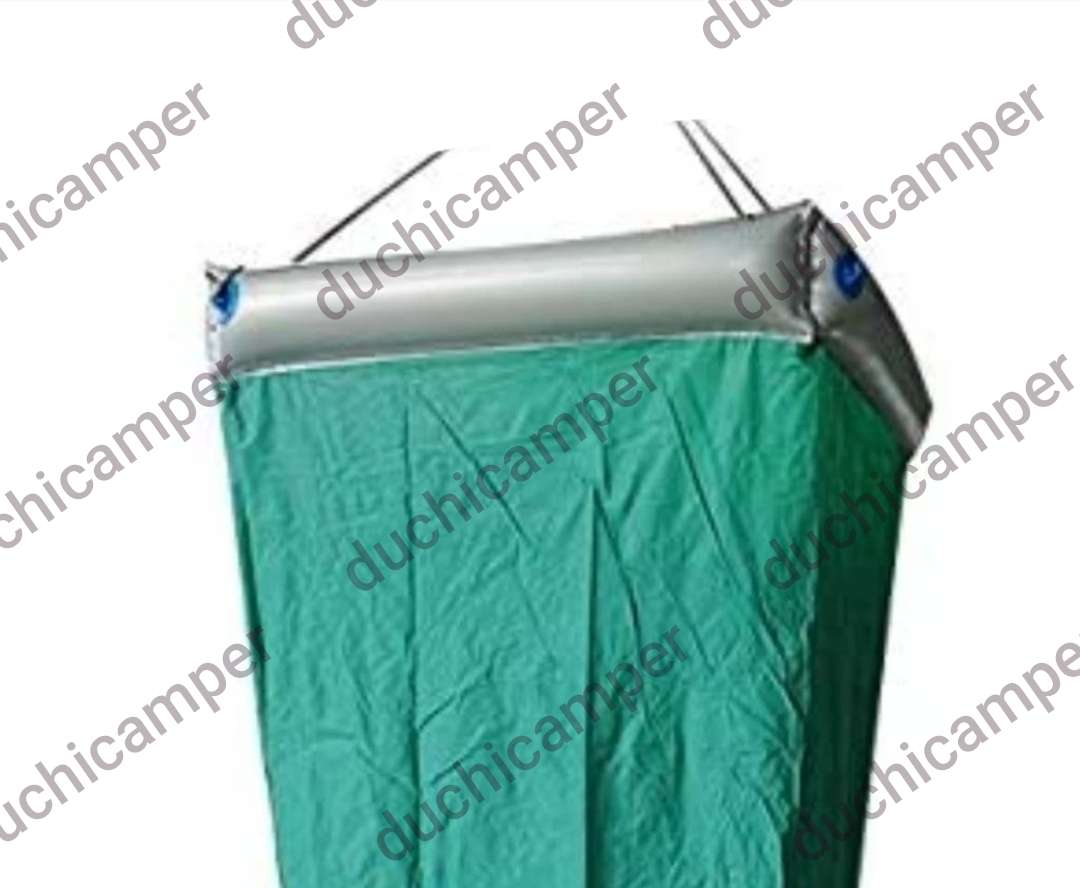 Imagen producto Duchicamper - ducha + WC + cambiador + probador en PVC reforzado e inflable 4