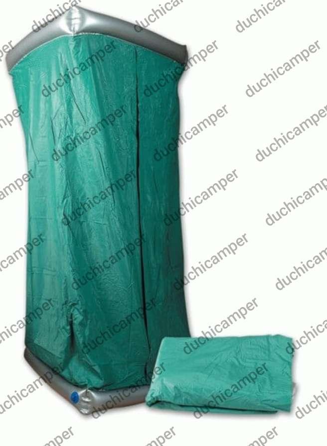 Imagen producto Duchicamper - ducha + WC + cambiador + probador en PVC reforzado e inflable 2