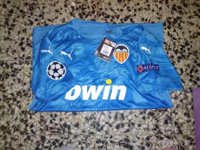 Imagen camiseta champions leage valencia cf talla XL