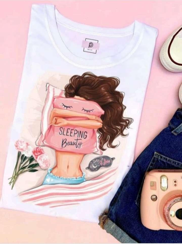 Imagen camisas Piel Durazno Dama y niñas