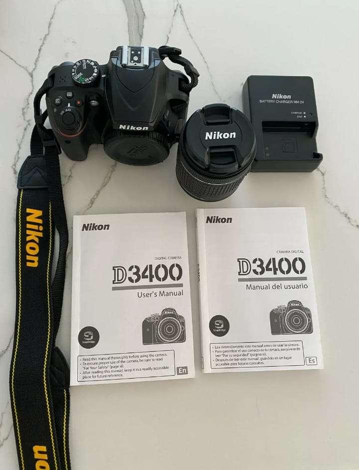 Imagen producto Original Nikon D3400 Camara Y lentes 2