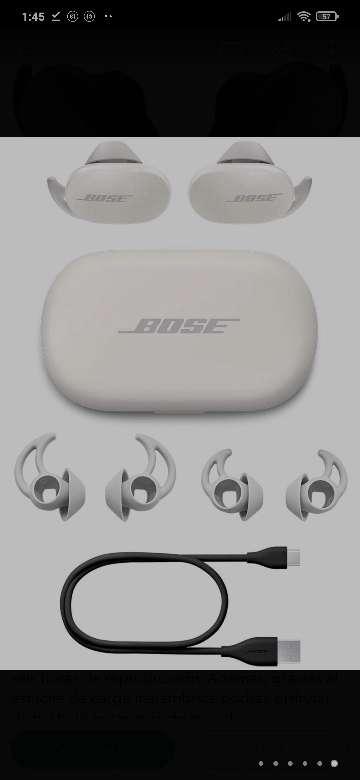 Imagen auriculares Bose