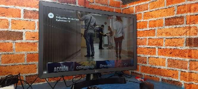 Imagen lg Smart tv/monitor 24 pulgadas como nuevo con su asesores y caja