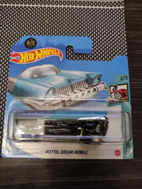 Imagen Hot Wheels Mattel Dream Mobile azul 2/5 Tooned .