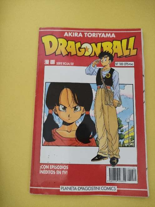 Imagen Dragon Ball Manga año 93 serie roja 30