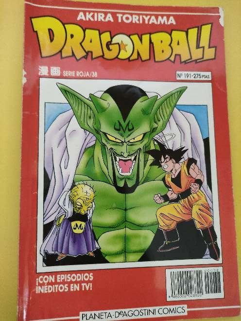 Imagen Dragon Ball Manga año 93 serie roja 38 N°191